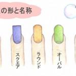 爪の形を変える方法は?爪やすりを使えば簡単にできる?